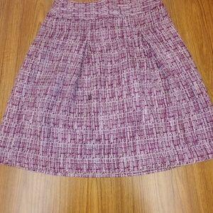 Ann Taylor Twill skirt